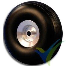 Rueda Topmodel 51x19mm ECOTOP con llanta aluminio, 12.7g, 2 uds