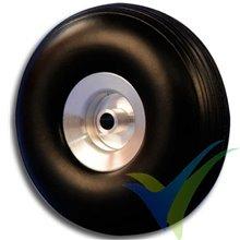 Rueda Topmodel 25x11mm ECOTOP con llanta aluminio, 3.9g, 2 uds