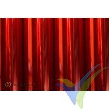 Oracover 21-029 rojo claro transparente 1m x 60cm