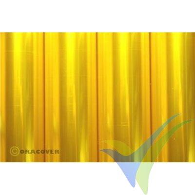 Oracover Oralight amarillo transparente 1m x 60cm