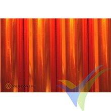 Oracover AIR Outdoor naranja transparente 1m x 60cm