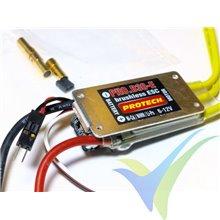 Variador brushless Protech RC PRO.B30-E, 2S-3S (heli 450), BEC, 24g