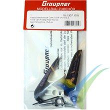 "Graupner CAM folding propeller 6x3"" (15x8cm) with spinner Ø30/3.17mm"