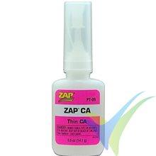 Adhesivo cianoacrilato fluido ZAP PT-09, 14.1g