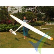 FlyFly Hobby ASW-15 glider kit, 4000mm, 2400-3500g