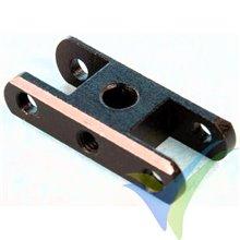 Porta palas Xpower de aluminio para hélice plegable Ø5.0/20mm +2.5°