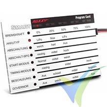 Tarjeta de programación Multiplex ROXXY Smart Card English