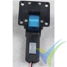 Tren retráctil eléctrico Dynam, 3mm/75º, trunion metálico