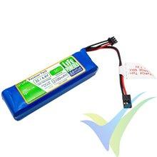 Batería LiFe receptor Hyperion G5 2S 2100mAh (13.86Wh) 2S1P 5C 109g