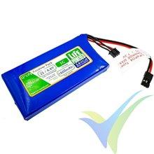 Batería LiFe receptor Hyperion G5 2S 1600mAh (10.56Wh) 2S1P 5C 90g