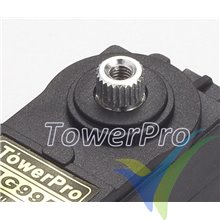 Servo digital TowerPro MG995, 55g, 11Kg.cm, 0.16s/60º, 4.8V-6V
