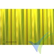 Oracover 21-035 amarillo flúor transparente 1m x 60cm