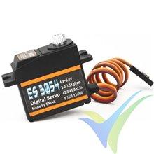 Servo digital EMAX ES3054, 17g, 3.5Kg.cm, 0.13s/60º, 4.8V-6V