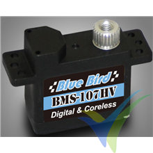 Servo digital Blue Bird BMS-107HV, 10.5g, 2.5Kg.cm, 0.05s/60º, 6V-7.4V