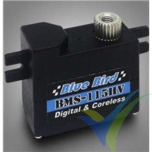 Servo digital Blue Bird BMS-115HV, 11.3g, 5.5Kg.cm, 0.1s/60º, 6V-7.4V