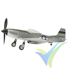 Kit avión gomas The Vintage Model Company North American P-51D Mustang, 460mm