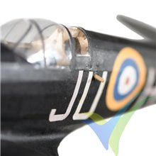Kit avión gomas The Vintage Model Company Supermarine Spitfire Mk VB Night Fighter, 460mm