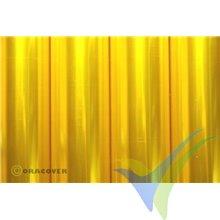 Oracover 21-039 amarillo transparente 1m x 60cm