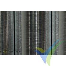 Oracover 21-105 aluminio cepillado 1m x 60cm