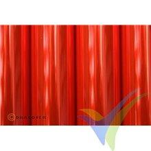 Oracover 21-026 rojo flúor transparente 1m x 60cm