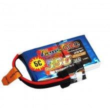 Batería LiPo Gens ace 350mAh (2.59Wh) 2S1P 30C 30.8g JST-PHR