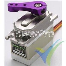 Digital servo TowerPro MG959, 78g, 32Kg.cm, 0.13s/60º, 4.8V-6V