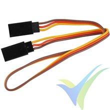 Cable servo hembra-hembra (patch) universal Yuki Model 30cm, 1 ud
