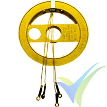 Sullivan S108 Control Line kevlar cable reel, 18.29m
