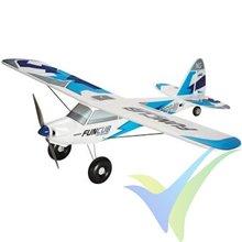 Kit avión Multiplex Funcub NG azul, 1410mm, 1380g