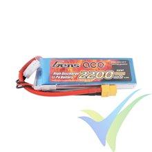 Batería LiPo Gens ace 2200mAh (16.28Wh) 2S1P 25C 136g XT60
