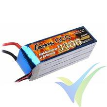 Batería LiPo Gens ace 3300mAh (73.26Wh) 6S1P 25C 498g XT90