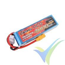 Batería LiPo Gens ace 4000mAh (44.4Wh) 3S1P 25C 328g XT90