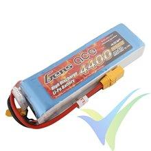 Batería LiPo Gens ace 4400mAh (65.12Wh) 4S1P 35C 451g XT90