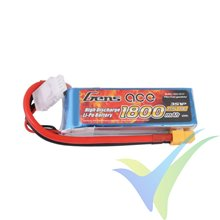 Batería LiPo Gens ace 1800mAh (19.98Wh) 3S1P 40C 163g XT60