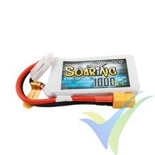 Batería LiPo Gens ace Soaring 1000mAh (7.4Wh) 2S1P 30C 63g XT60