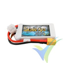 Batería LiPo Gens ace Soaring 1000mAh (11.1Wh) 3S1P 30C 89g XT60