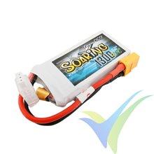 Batería LiPo Gens ace Soaring 1300mAh (9.62Wh) 2S1P 30C 79g XT60