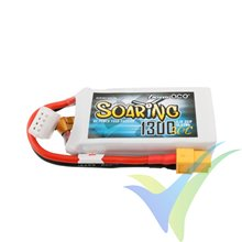 Batería LiPo Gens ace Soaring 1300mAh (14.43Wh) 3S1P 30C 107g XT60