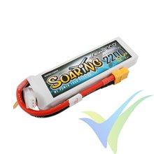 Batería LiPo Gens ace Soaring 2200mAh (16.28Wh) 2S1P 30C 122g XT60