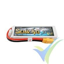 Batería LiPo Gens ace Soaring 3300mAh (48.84Wh) 4S1P 30C 328g XT90