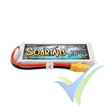 Gens ace Soaring LiPo battery 3300mAh (48.84Wh) 4S1P 30C 328g XT90