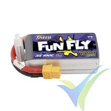 Tattu Funfly - Gens ace LiPo battery 1550mAh (17.21Wh) 3S1P 100C 140g XT60