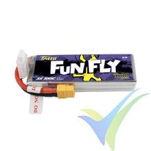 Batería LiPo Tattu Funfly - Gens ace 1800mAh (19.89Wh) 3S1P 100C 160g XT60