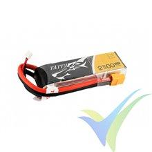 Batería LiPo Tattu - Gens ace 2300mAh (25.53Wh) 3S1P 45C 182g XT60