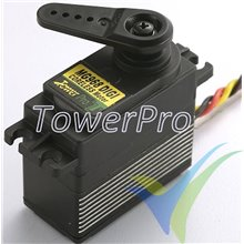Digital servo TowerPro MG968 Titanium, 65g, 25Kg.cm, 0.13s/60º, 4.8V-6V