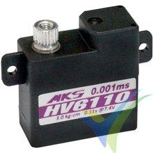 Servo digital MKS HV6110, 10g, 3.47Kg.cm, 0.1s/60º, 6V-8.4V