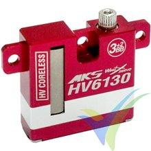 Servo digital MKS HV6130, 22.5g, 8.26Kg.cm, 0.1s/60º, 6V-8.4V