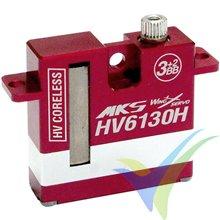 Servo digital MKS HV6130H, 22.5g, 8.26Kg.cm, 0.1s/60º, 6V-8.4V