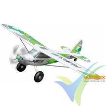 Combo avión Multiplex FunCub NG RR verde, 1410mm, 1380g
