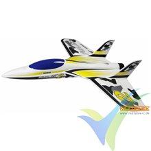 Kit avión Multiplex FunJet 2 amarillo, 783mm, 600g